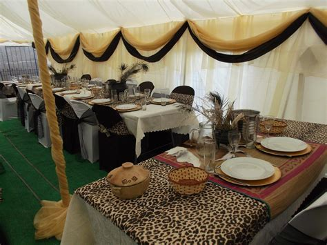 African wedding decor   traditional decor   Zulu