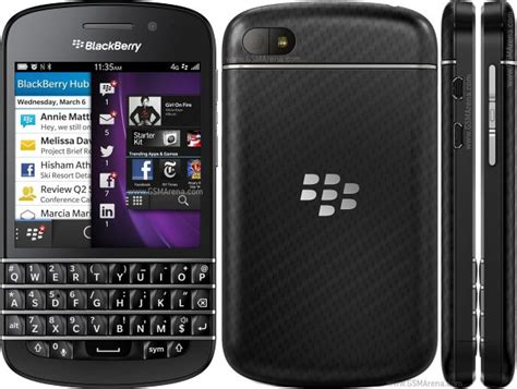 Hp Bb Touch blackberry q10 pictures official photos