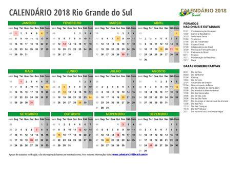 Calendario Grande Calend 193 2018 Para Imprimir Feriados