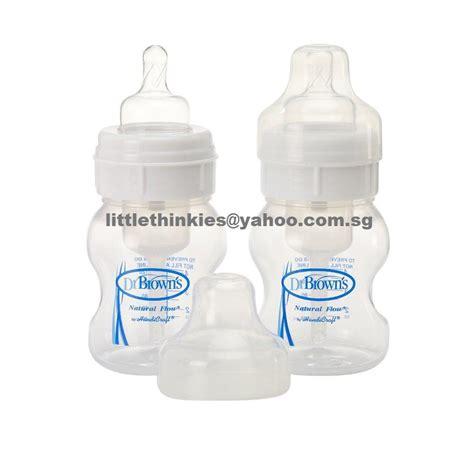 Ring Botol Avent Wideneck dr brown s 4oz wide neck polypropylene bottle 2 each box