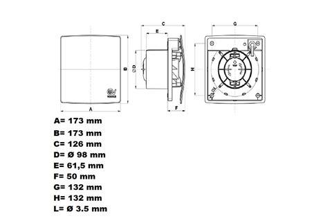 aspiratori da bagno aspiratore vortice per bagno minimis co