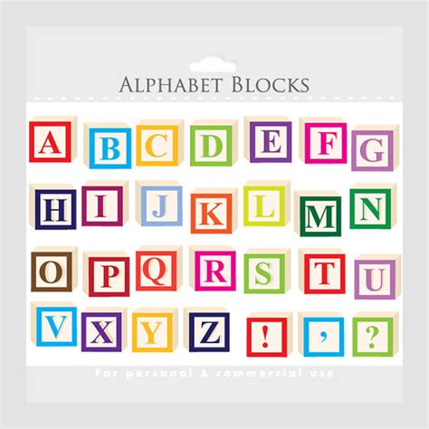 printable alphabet squares alphabet clipart letter blocks clip art letterblocks