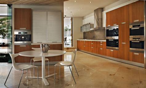 South African Kitchen Designs by Contemporary Glass House By Nico Van Der Meulen Architects