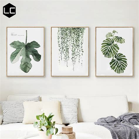 Pajangan Dinding Poster House 01 Pigura Home Decor modern scandinavian minimalist style living room decorative painting restaurant bedroom fresh