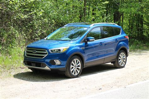 ford eacape 2018 2017 ford escape drive review