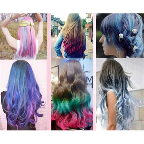 cool hair dye colors cool hair chalk pens crayon temporary hair dye colour kit