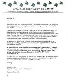 Fundraising Model Letter Creekside Early Learning Center Is Seeking Donations For Their Disney Quiz Fundraiser In
