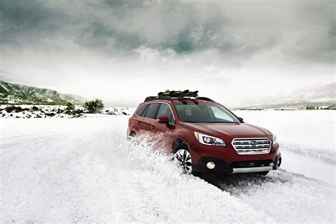 red subaru outback the ruggedly handsome 2017 subaru outback goes from off