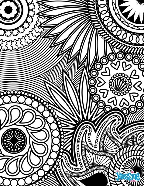 anti stress coloring pages printable coloriages coloriage anti stress fr hellokids