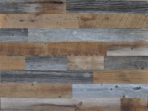 recycled wood diy reclaimed wood accent wall grey and brown natural 3 5