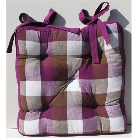 cuscini coprisedie cuscino coprisedia scozzese viola