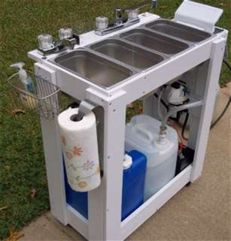 How To Build A Portable Concession Sink 3 Compartment