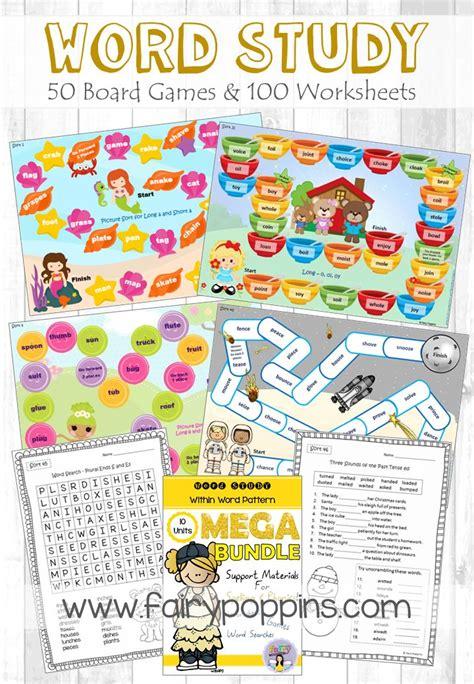 pattern analysis games 109 best spelling word work activities ela images on