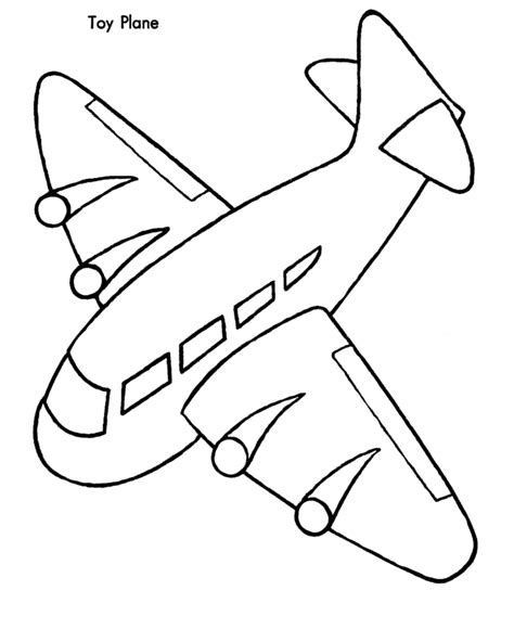 airplane coloring pages for kids az coloring pages
