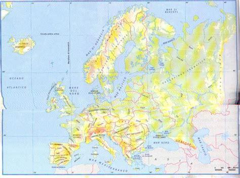 i mari bagnano l europa europa