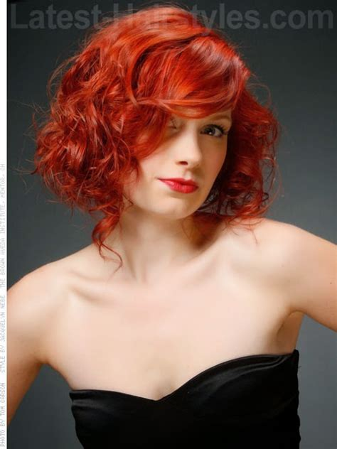 red curly hairstyles the haircut web