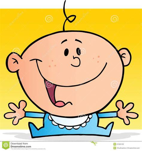 clipart neonato personaggio dei cartoni animati felice neonato