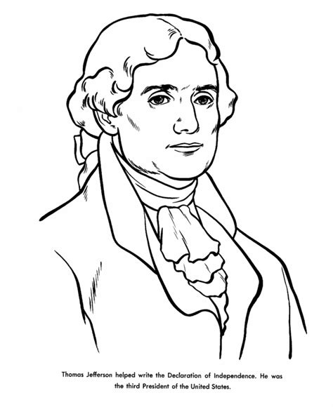 Jefferson Coloring Pages jefferson coloring pages coloring home