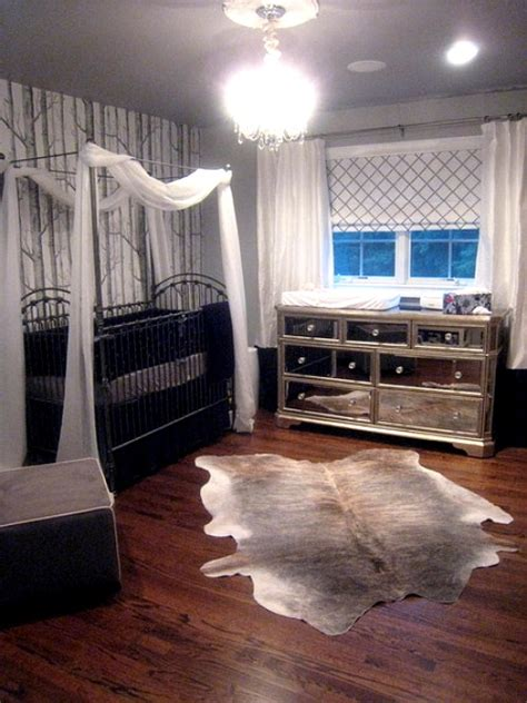 animal hide rugs   nursery
