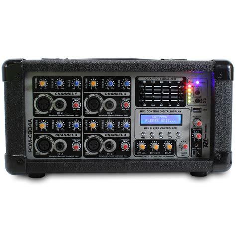 Power Lifier Digital Stereo Echo Mixing 4 Imput Mic 150wattx2 power dynamics pa lifier 4 channel stereo mixer dj band karaoke