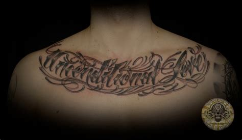 tattoo love on chest tattoo lettering chest best home decorating ideas