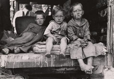 depression era long lost depression era photos capture everyday life of