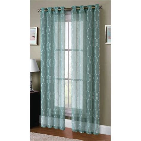extra wide linen curtains window elements boho embroidered faux linen sheer extra