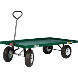 Garden Wagon Millside Industries Steel Flatbed Garden Wagon 800 Lb