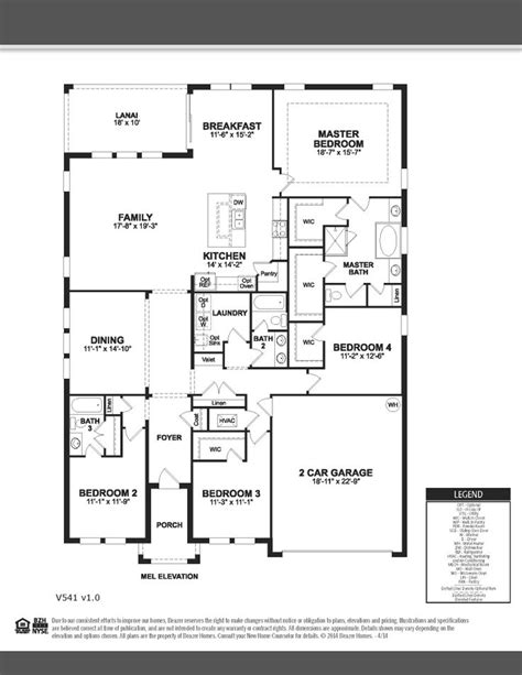 beazer floor plans cedar beazer homes singlestory 4bedrooms 3bathrooms