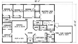 floor plans for 5 bedroom homes 5 bedroom ranch style house plans 2015 so replica houses