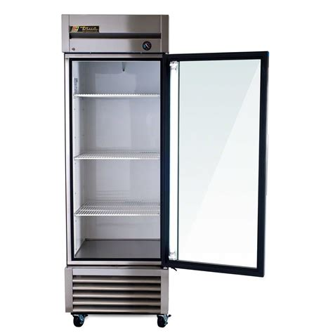 Glass Door Commercial Refrigerator True T 23g 27 Quot Glass Door Reach In Refrigerator