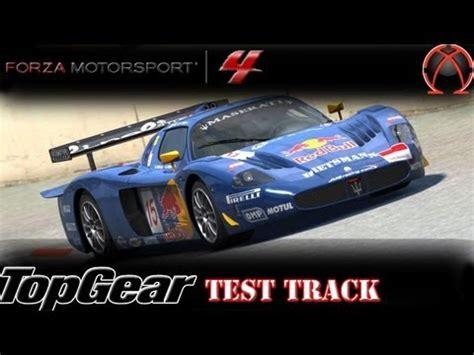 Maserati Mc12 Top Gear by Forza 4 Maserati Mc12 Top Gear Test Track