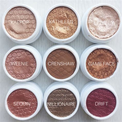 Eyeshadow Colourpop colourpop s shock eyeshadows so gorgeous neutral brown mattes and shimmers with a pop