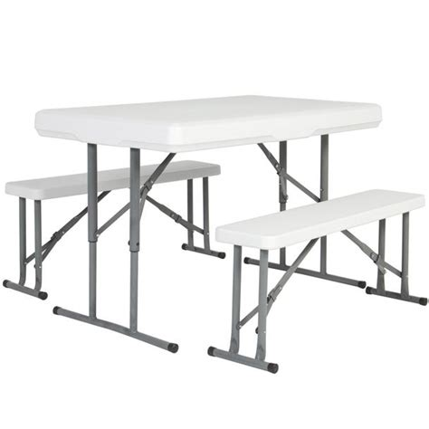 Best Portable Table by Best Choice Products Folding Table Benches Portable