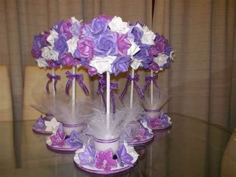 arreglos de boda para mesa hechos de foami imagui topiarios de flores en goma ideal para centro de mesas centros de mesa