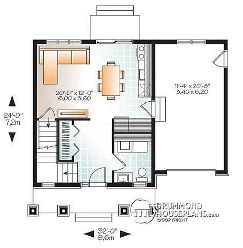 House Floor Plans With Cost To Build by House Plan W1702 Detail From Drummondhouseplans Com
