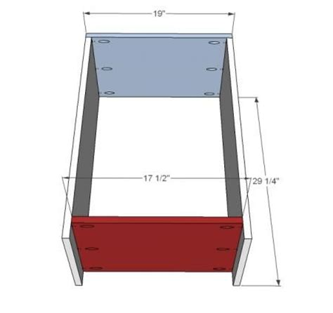 tilt out trash cabinet plans ana white build a wood tilt out trash or recycling