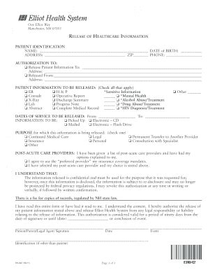 Hospital Birth Records Search Elliot Hospital Records Resources Fill Printable Fillable Blank Pdffiller
