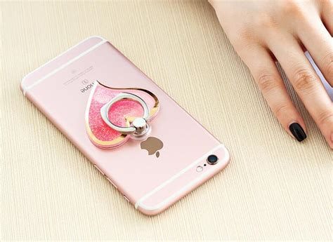 Ring Holder With Liquid Buckle 2018 fashion style liquid sand ring buckle