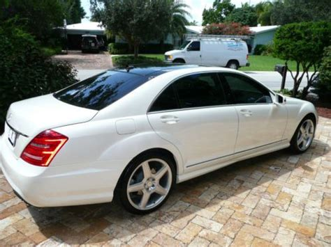 2011 mercedes s550 amg sell used 2011 mercedes s550 amg white