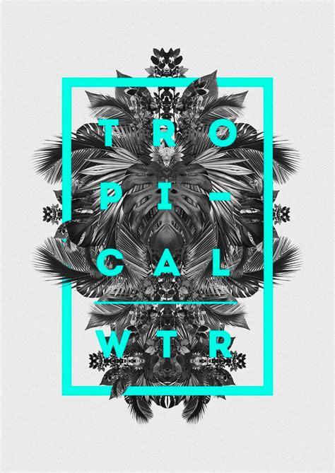 graphics design uses tropical wtr grids design inspiration and showcase