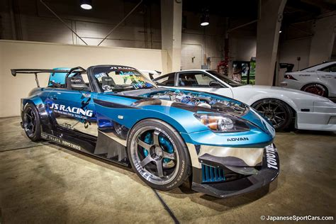 honda racing wheels honda s2000 with j s racing gt widebody kit and advan