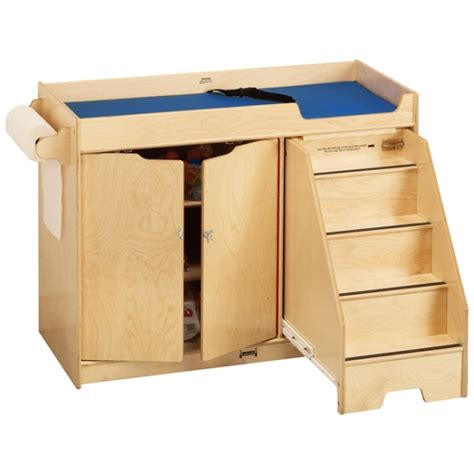changing table with stairs jonti craft changing table w right side stairs 5137jc