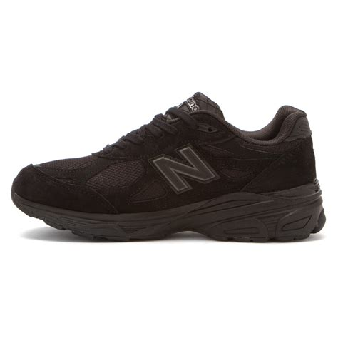 w990v3 stability running shoes new balance black
