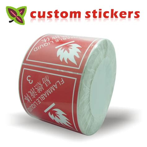 personalized stickers custom stickers labels printing coated paper sticker