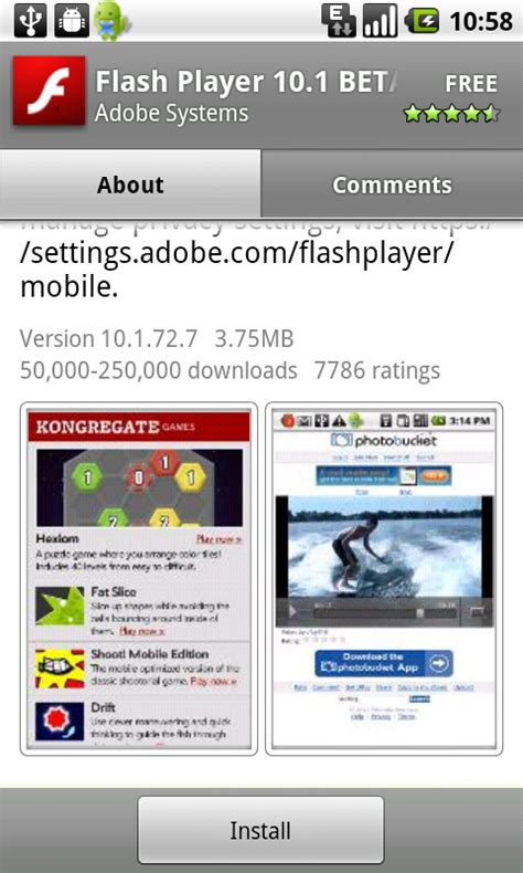 how to get flash on android flash on android 3