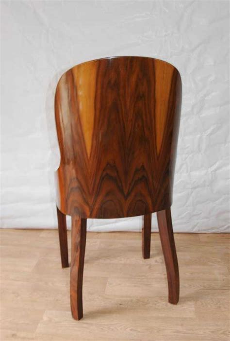 set art deco dining chairs rosewood furniture  interiors