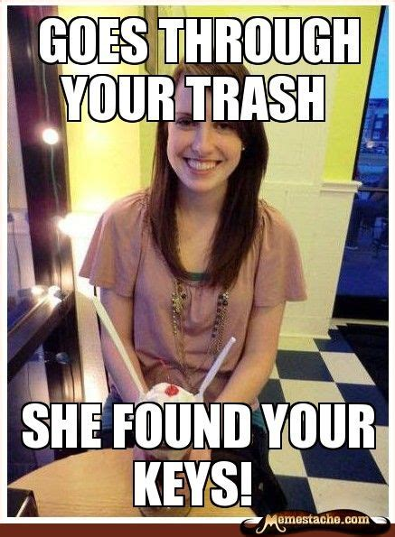 Misunderstood Girlfriend Meme - misunderstood girlfriend goes through your trash