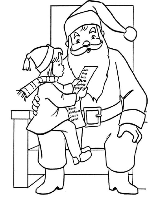 turkey claus coloring page santa claus coloring pages free printable santa claus