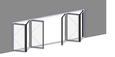 Foldable Glass Door Lacantina Doors Folding Doors And Grilles Bim Objects Families